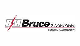 Bruce & Merrilees Electric Company logo