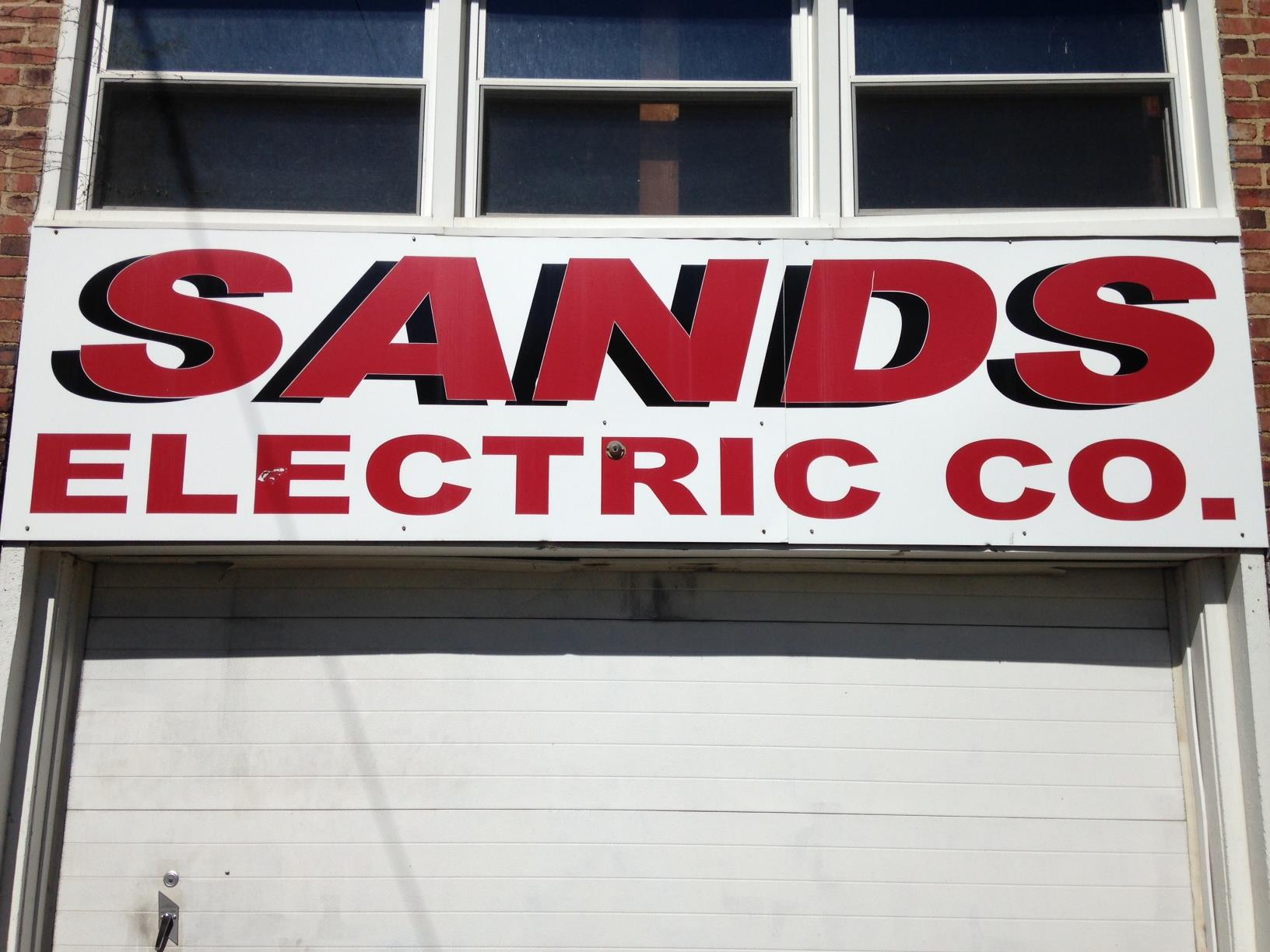 Sands Electric Company logo
